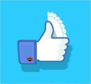 Facebook Like thumb up