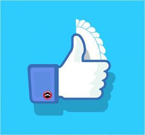 Facebook Like thumb up