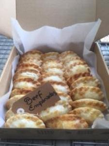 box empanada canape for 30 units